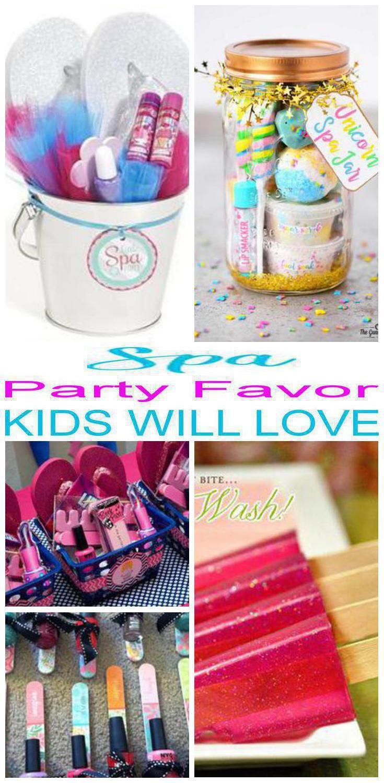Kids Spa Party Favors  Spa Party Favor Ideas