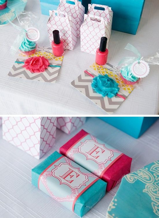 Kids Spa Party Favors  166 best images about Spa party on Pinterest