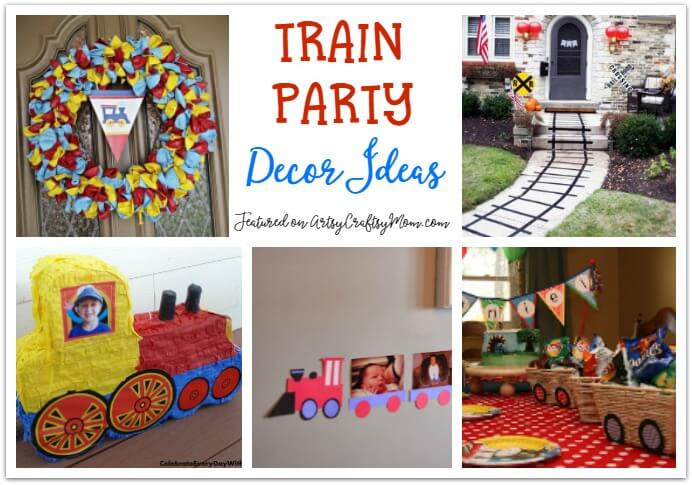 Kids Train Decor  25 Awesome Train Party Ideas for Kids