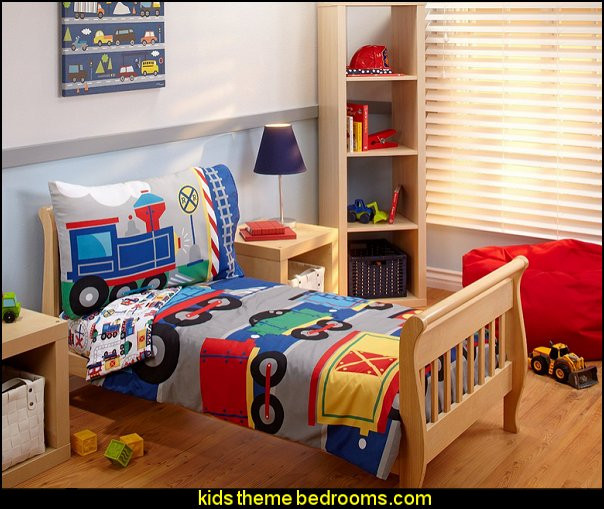 Kids Train Decor  Decorating theme bedrooms Maries Manor Train themed