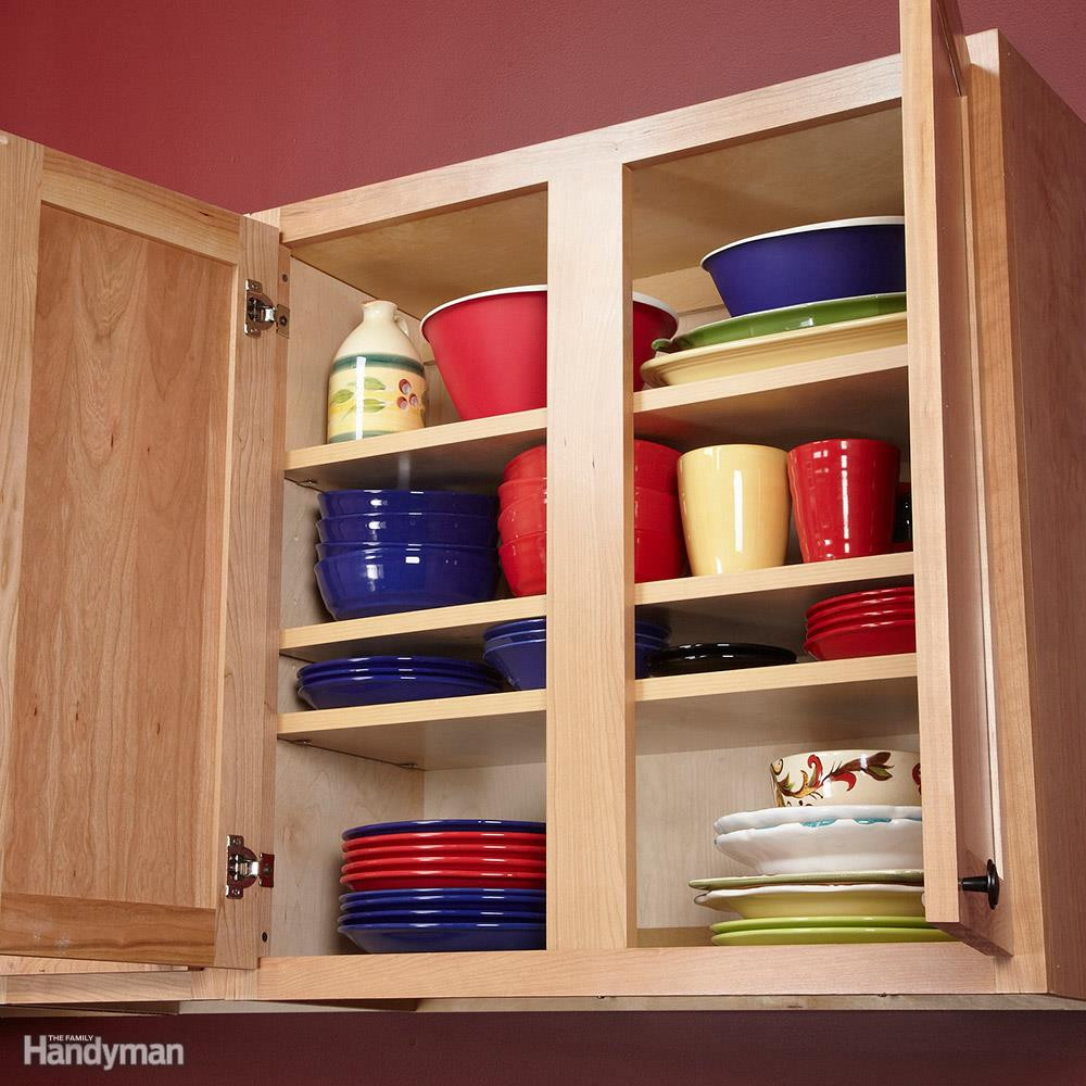 Kitchen Cabinet Shelves Organizer  10 Kitchen Cabinet & Drawer Organizers You Can Build