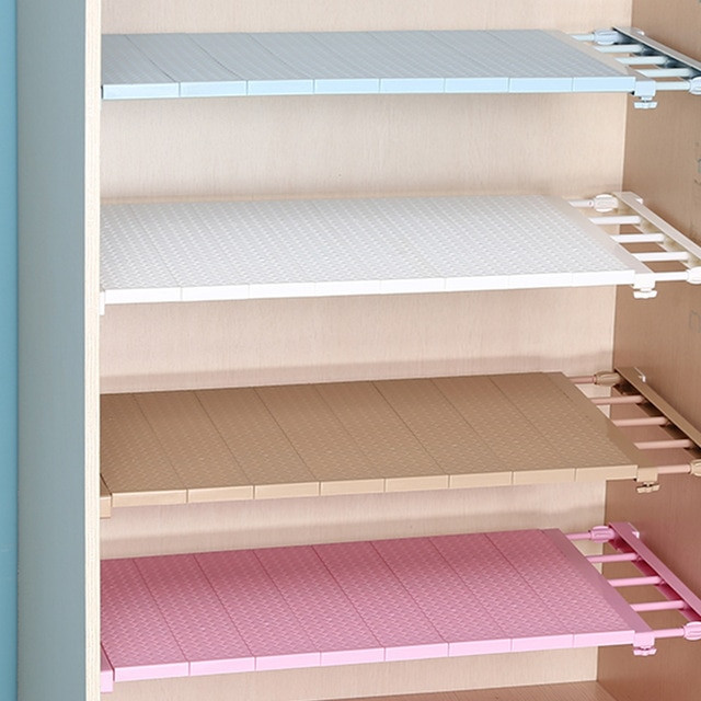 Kitchen Cabinet Shelves Organizer  Adjustable Shelves Cabinet Holders Closet Organizer