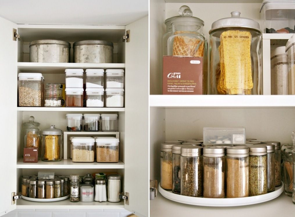 Kitchen Cabinet Shelves Organizer  Kitchen Cabinets Organizers That Keep The Room Clean and Tidy