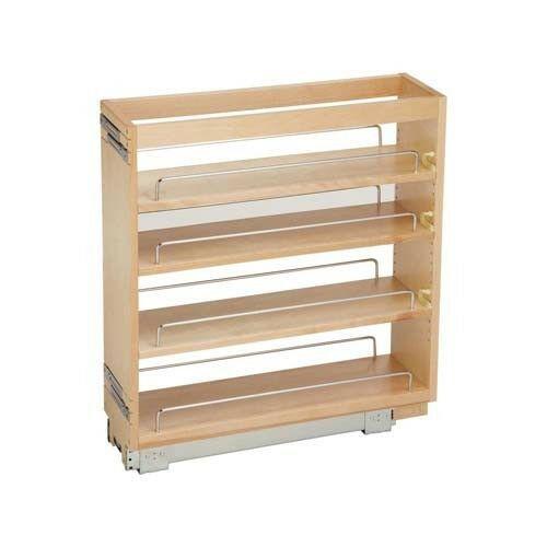 Kitchen Cabinet Shelves Organizer  Wood Base Cabinet Pantry Storage Pull Out Organizer