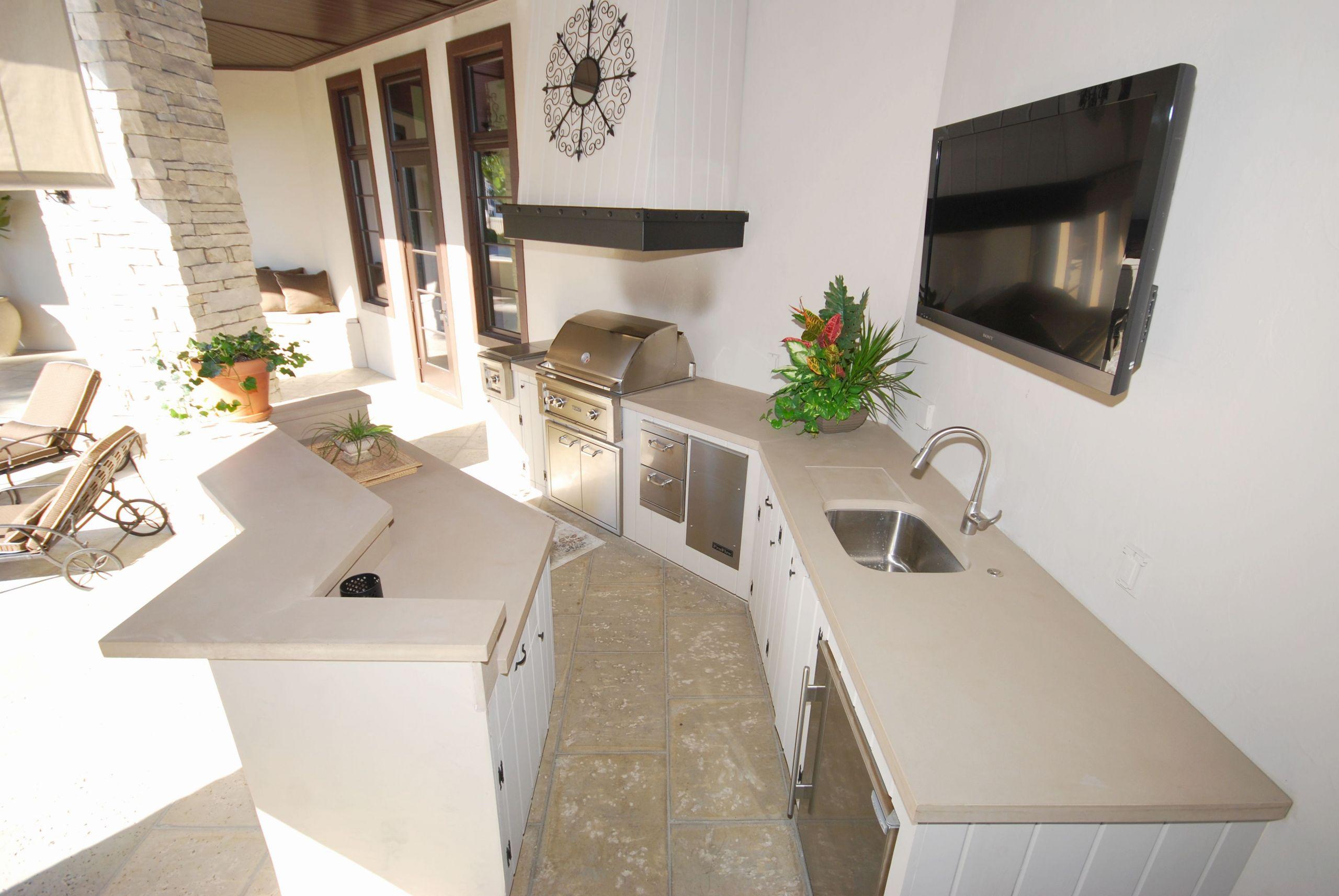 Kitchen Concrete Countertop  Concrete Countertops – Downing Designs