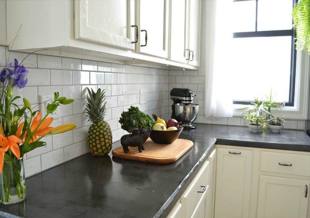 Kitchen Concrete Countertop  13 Different Ways to Make Your Own Concrete Kitchen