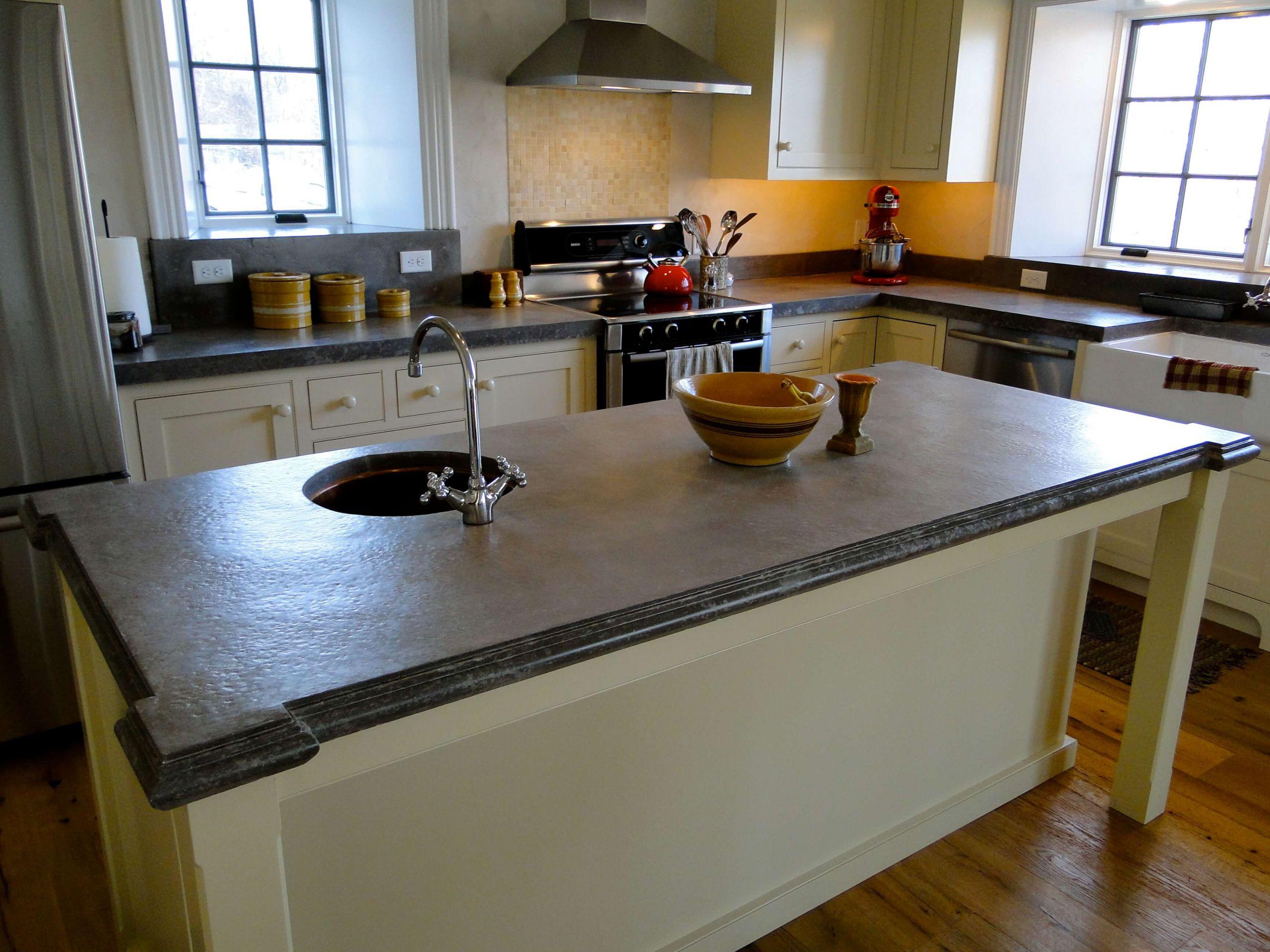Kitchen Concrete Countertop  Concrete Countertop Gallery