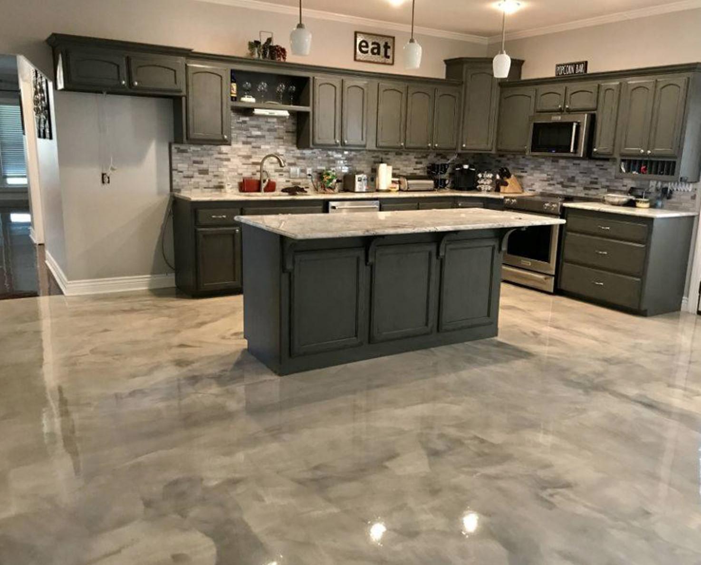 Kitchen Concrete Countertop  Concrete Kitchen Countertops Concrete Magick Inc