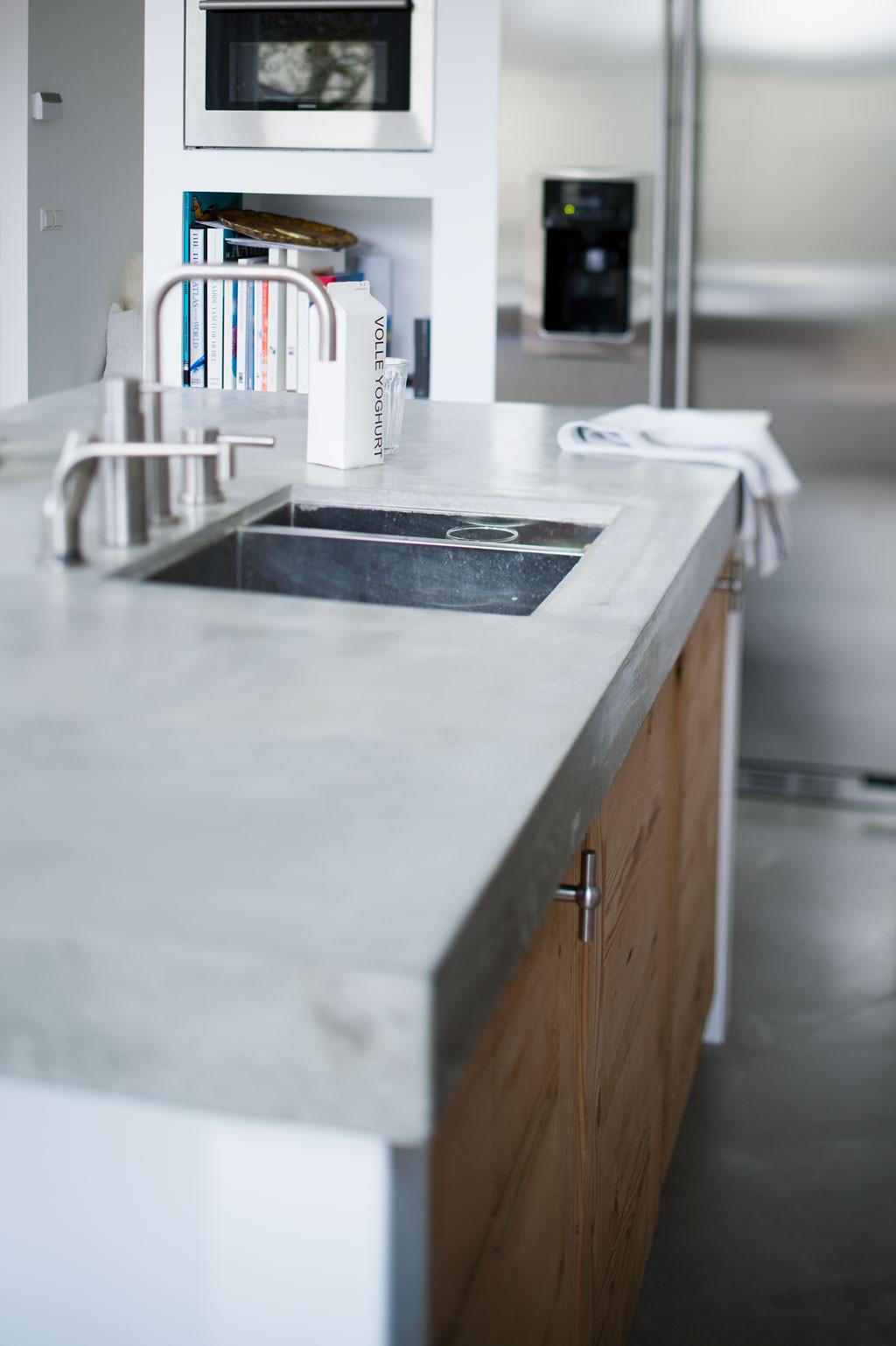 Kitchen Concrete Countertop  10 Most Popular Kitchen Countertops