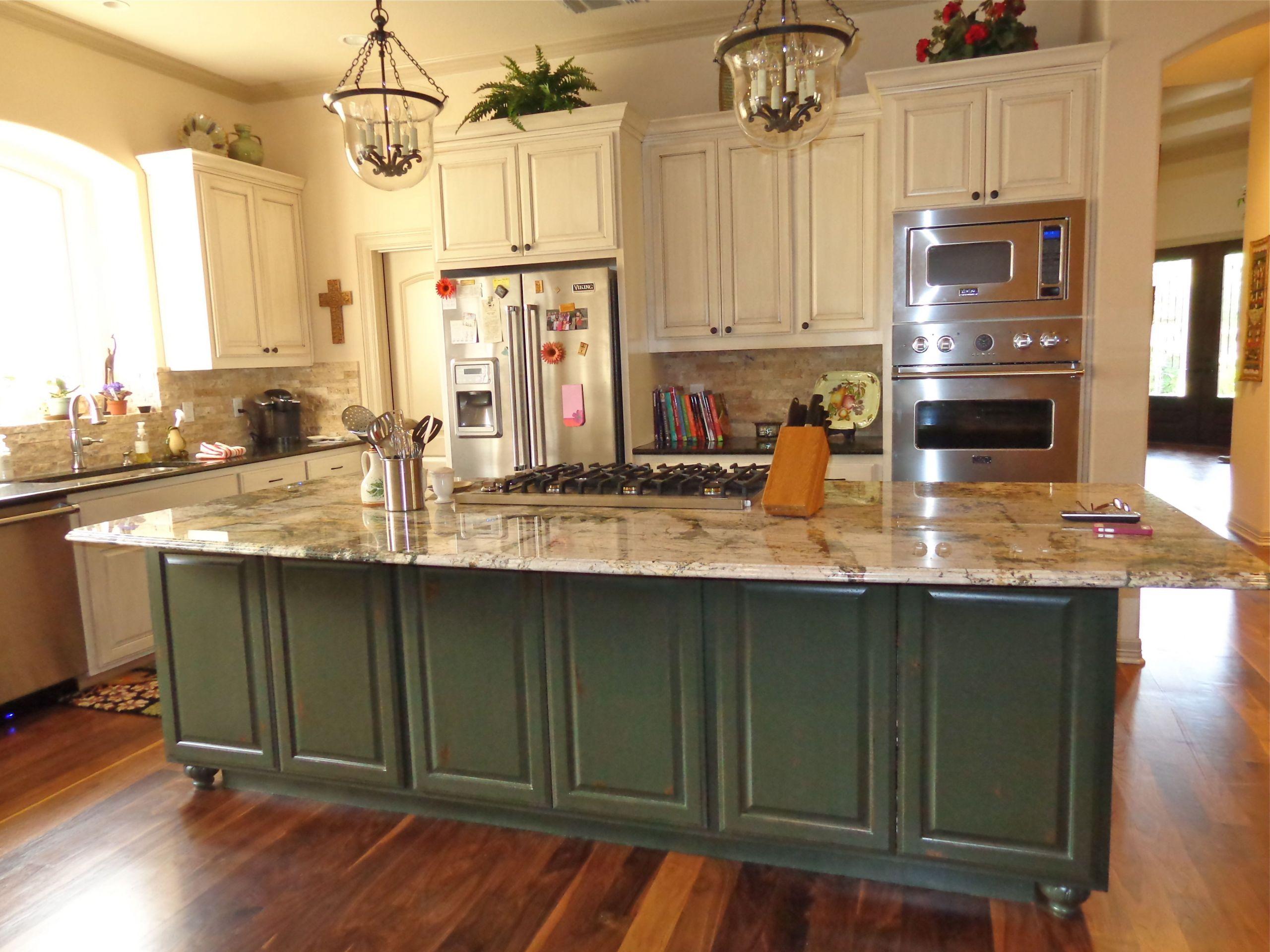 Kitchen Remodelers San Antonio  Granite Kitchen Island Dominion Kitchen