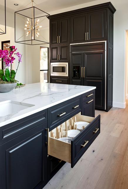 Kitchen Remodelers San Antonio  North San Antonio Kitchen Remodel Transitional Kitchen