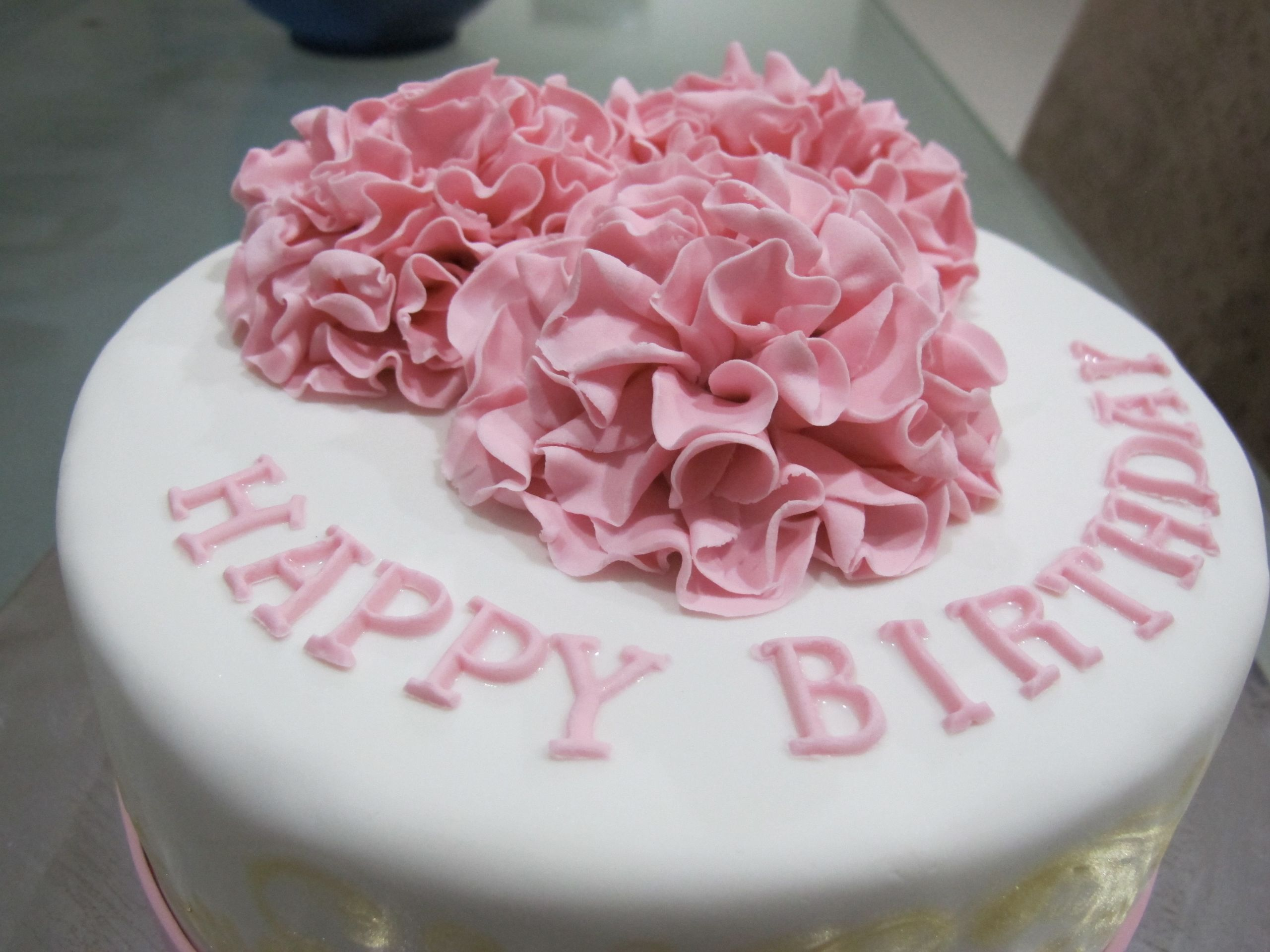 Ladies Birthday Cakes  Simple Birthday Cake for 2 Special La s