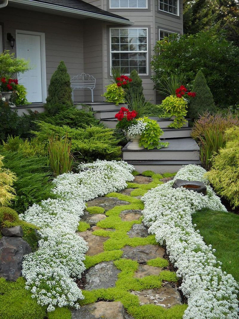 Landscape Design For Front Yards  50 Simple and Beautiful Front Yard Landscaping Ideas