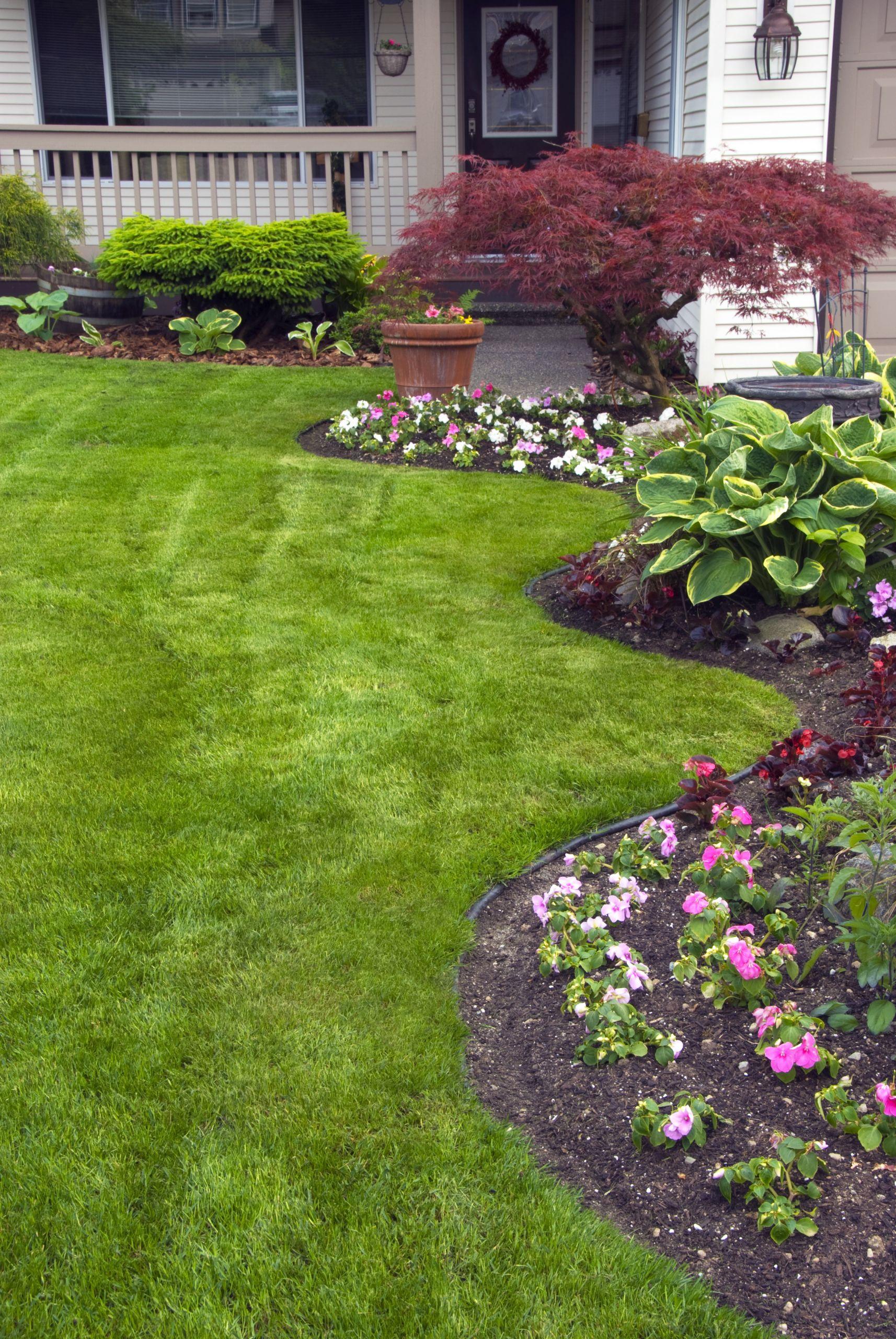 Landscape Design For Front Yards  Remodelaholic