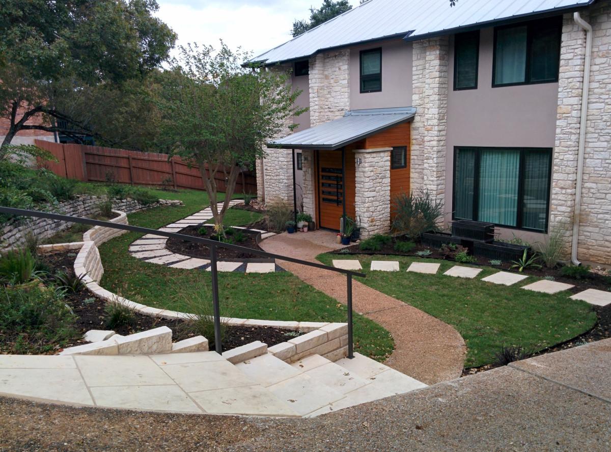 Landscape Design For Front Yards  Front Yard Design Inspiration for Austintastic Landscapes