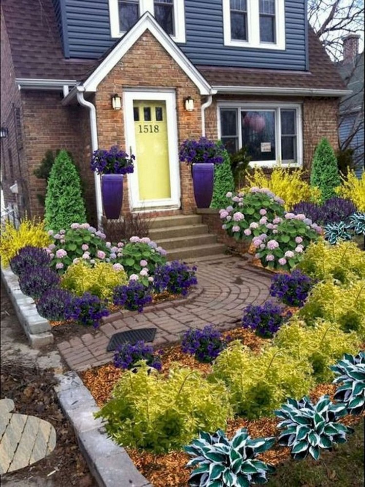 Landscape Design For Front Yards  73 Beautiful Small Front Yard Landscaping Ideas