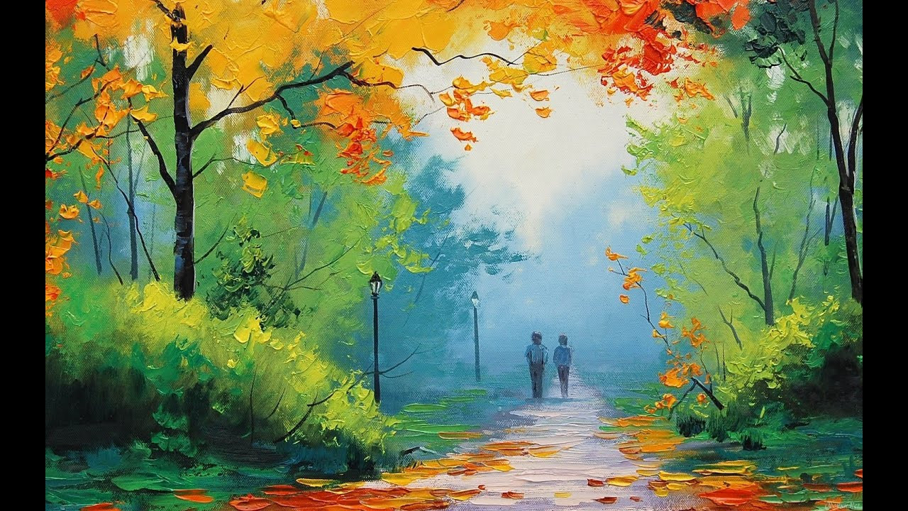 Landscape Painting Images  Most Beautiful Nature Paintings