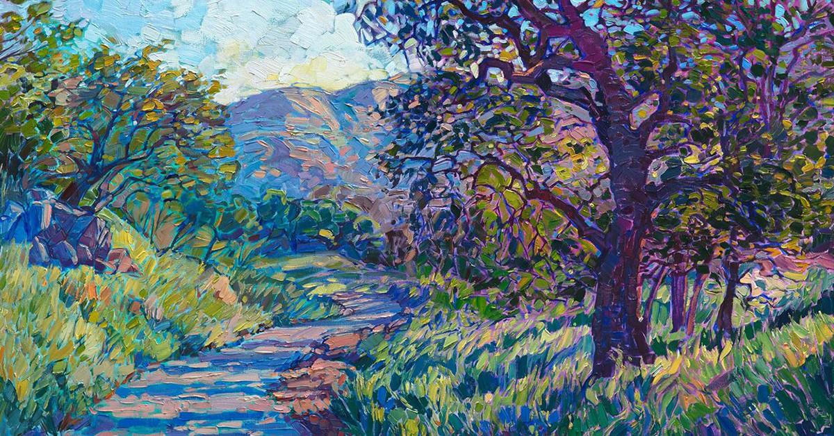 Landscape Painting Images  Vivid Contemporary Landscape Paintings Depict America s