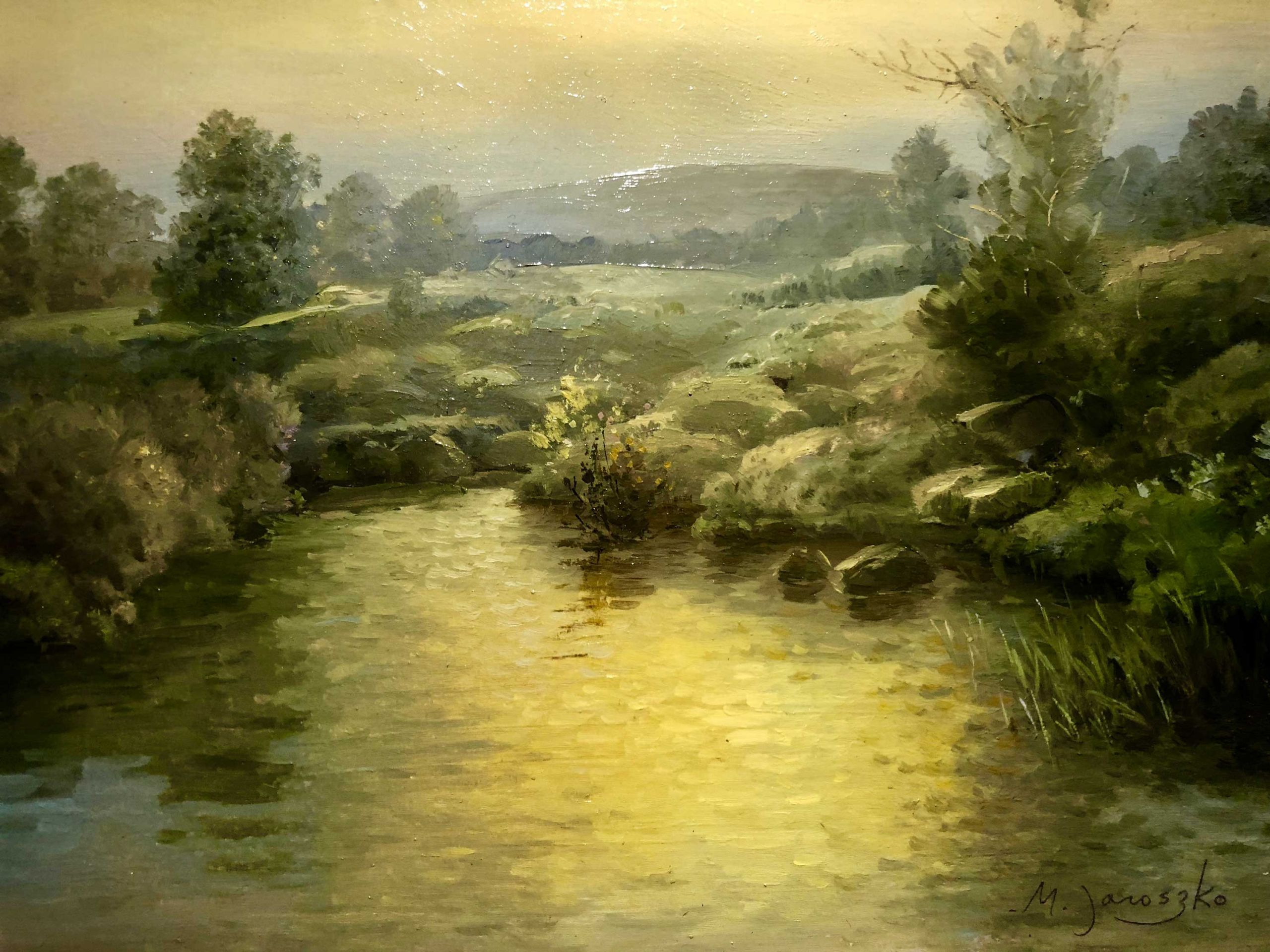 Landscape Painting Images  Classical Landscape Paintings on Display OutdoorPainter