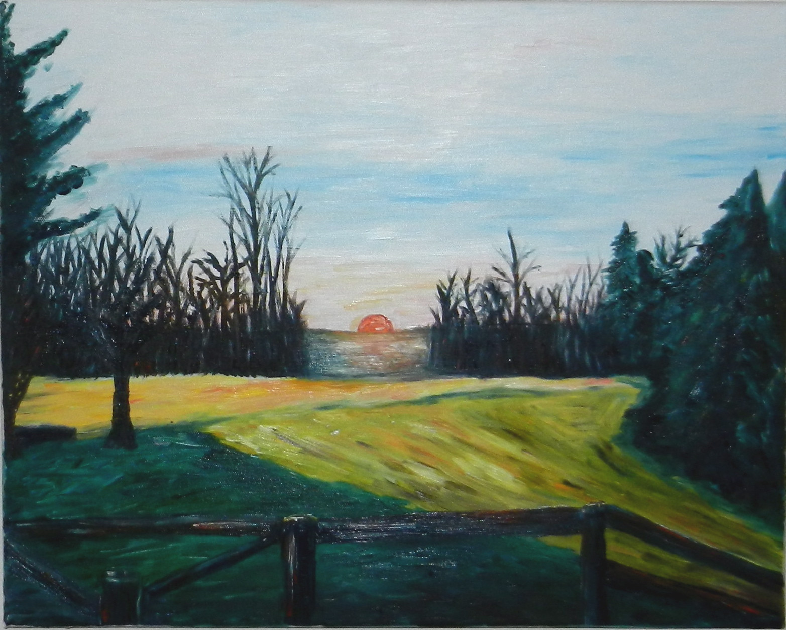 Landscape Painting Images  Knickerbocker Style & Design Impressionist Landscape Oil