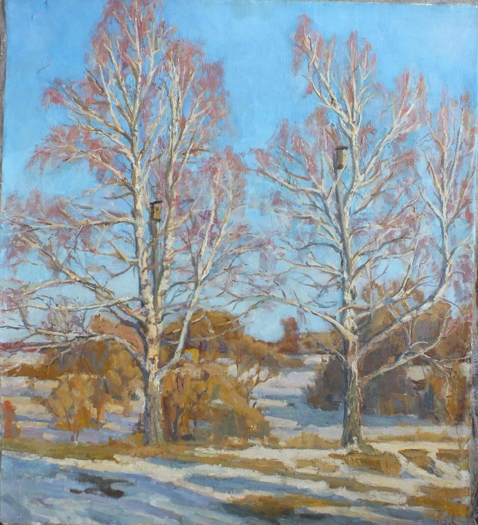 Landscape Painting Images  11 Renderings of Trees in Landscape Paintings OutdoorPainter