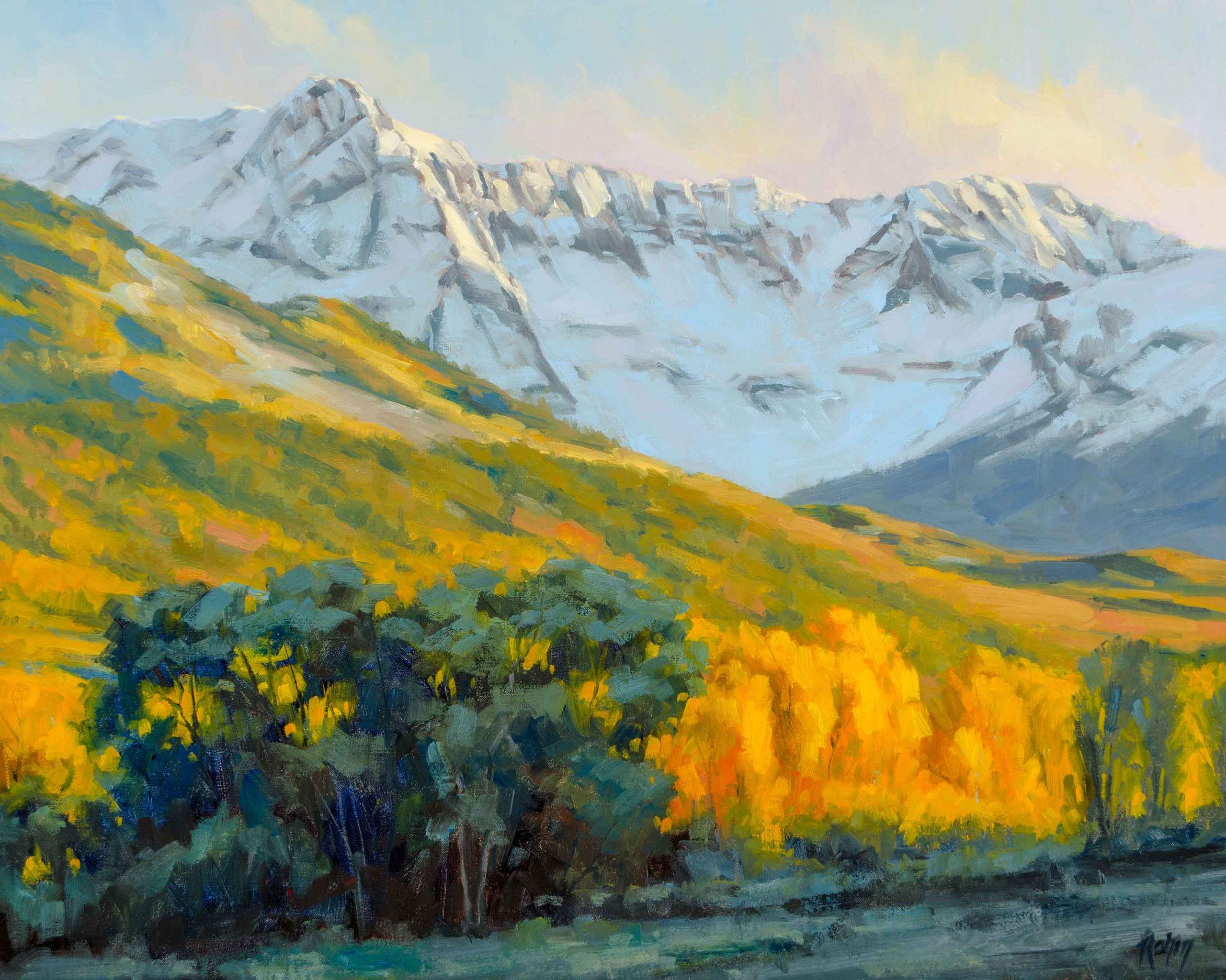 Landscape Painting Images  Painting Landscapes Aspen Trees OutdoorPainter