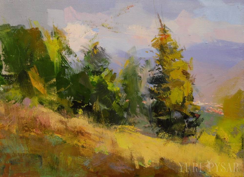 Landscape Painting Images  Contemporary landscape paintings on canvas by Yuri Pysar