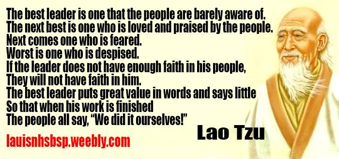 Lao Tzu Quotes Leadership  Lao Tzu Quotes Leadership QuotesGram
