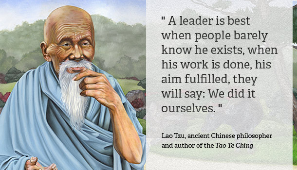 Lao Tzu Quotes Leadership  Quote The Day Archives mon Sense Evaluation