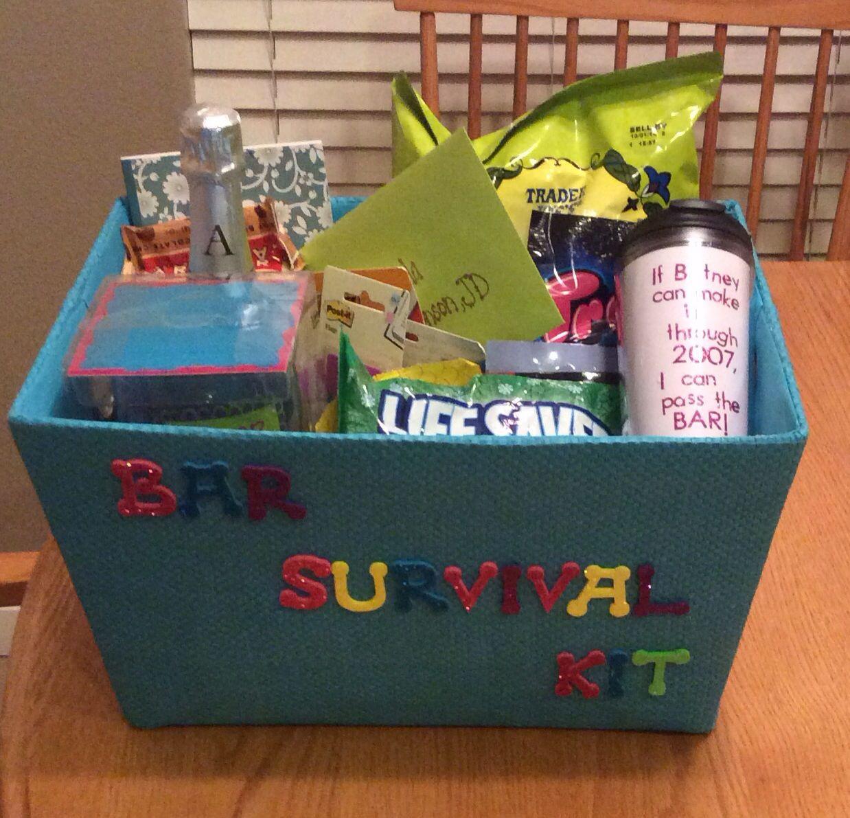 Law School Graduation Gift Ideas  Bar survival kit Gift for law school graduate Includes