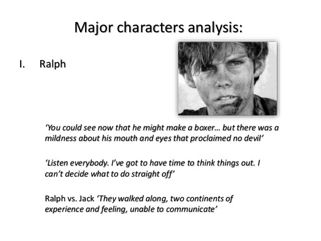 Lord Of The Flies Ralph Leadership Quotes  Lord of the flies