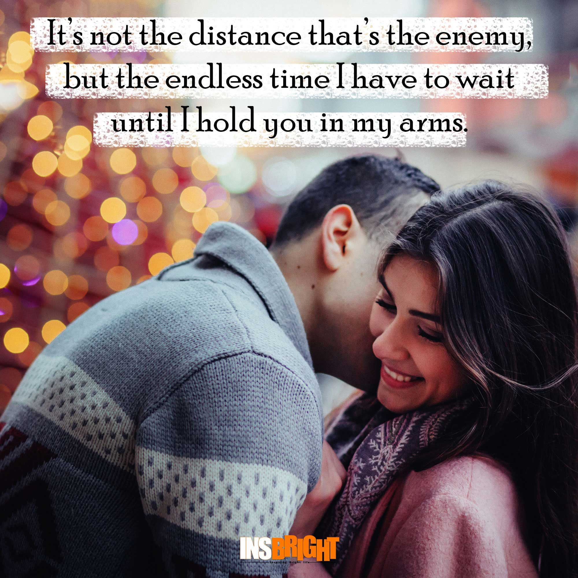 Love Quote For Long Distance Relationship  Long Distance Relationship Quotes For Him or Her With