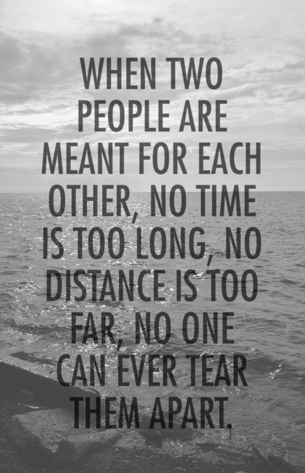 Love Quote For Long Distance Relationship  101 Cute Long Distance Relationship Quotes for Him