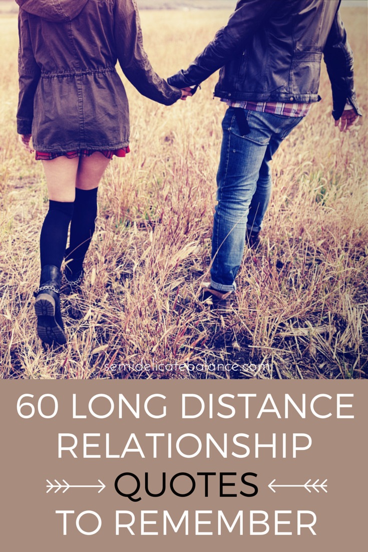 Love Quote For Long Distance Relationship  60 Long Distance Relationship Quotes to Remember