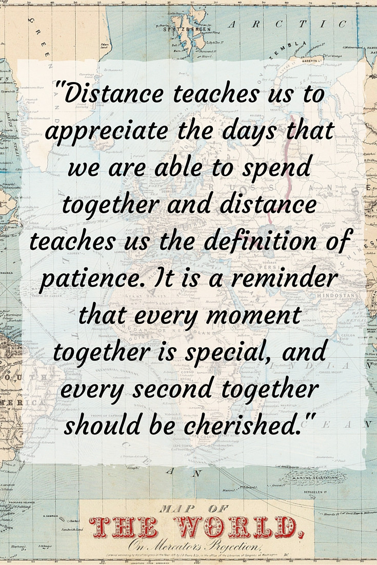 Love Quote For Long Distance Relationship  100 Inspiring Long Distance Relationship Quotes