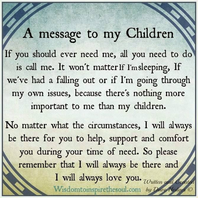 Loving A Child That Is Not Yours Quotes  A Message To My Children s and for
