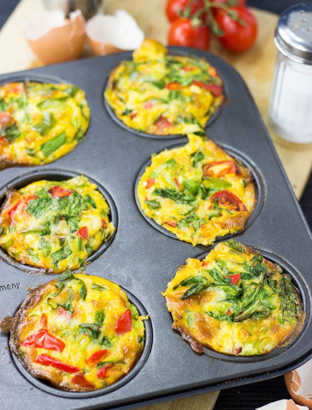 Low Carb Brunch Recipes  Breakfast Egg Muffins – 4 Tasty Ways