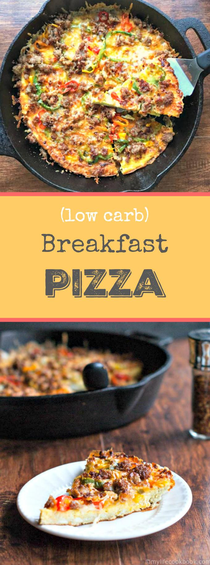 Low Carb Brunch Recipes  Low Carb Breakfast Pizza
