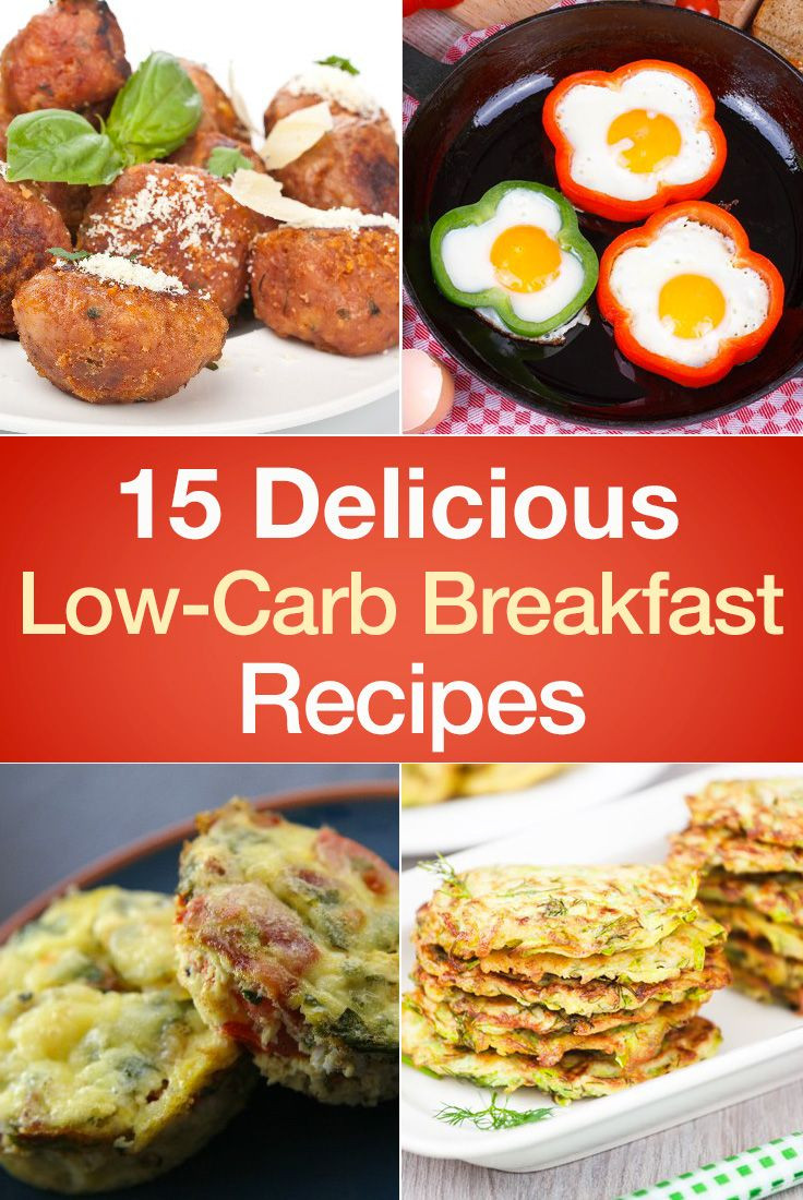 Low Carb Brunch Recipes  15 Delicious Low Carb Breakfast Recipes