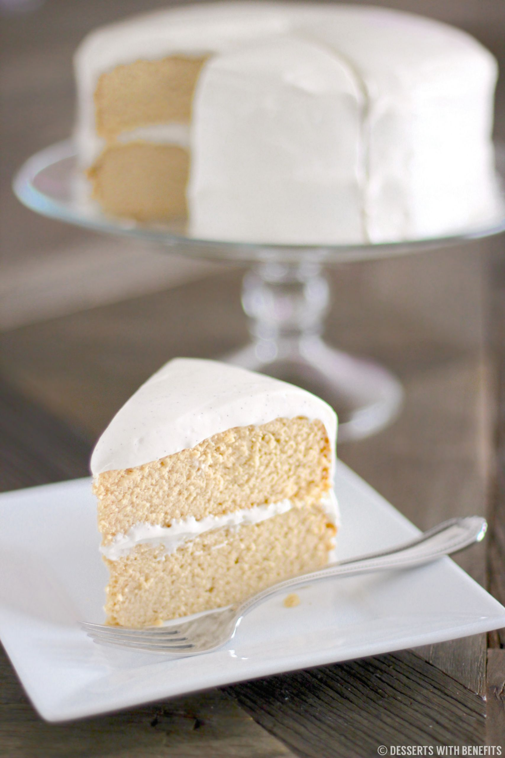 Low Carb Cream Cheese Dessert  Healthy Low Carb and Gluten Free Vanilla Cake sugar free