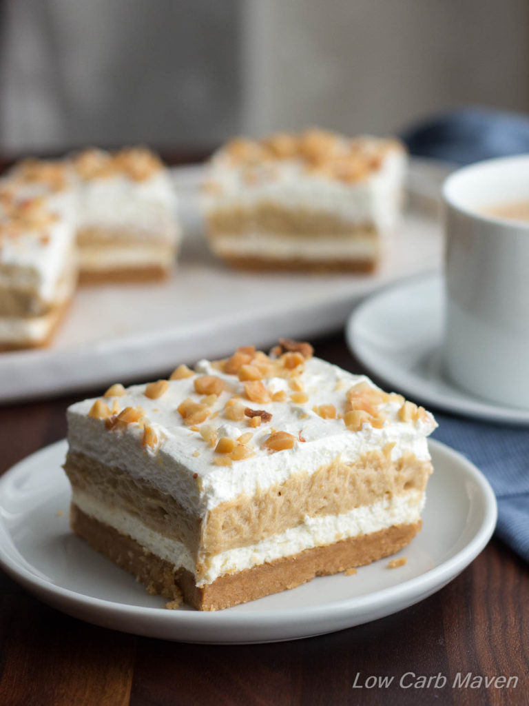 Low Carb Cream Cheese Dessert  Low Carb Peanut Butter Dessert Layered Dream Low Carb