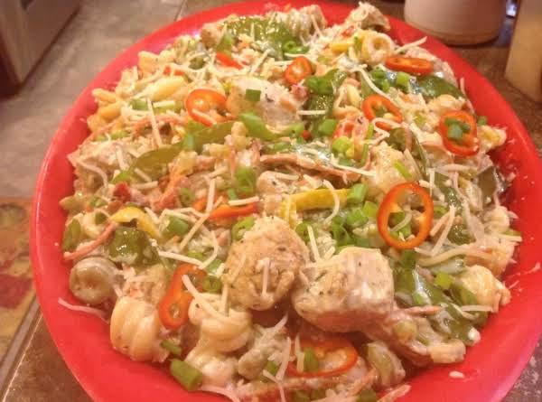 Low Cholesterol Chicken Recipes  Low Fat Chicken & Pasta N Cream Sauce With Veggies Recipe