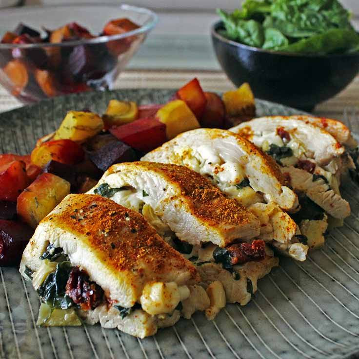 Low Cholesterol Chicken Recipes  10 Best Low Fat Stuffed Chicken Breast Recipes