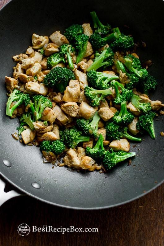 Low Cholesterol Chicken Recipes  Healthy Chicken Breast & Broccoli Stir Fry Recipe