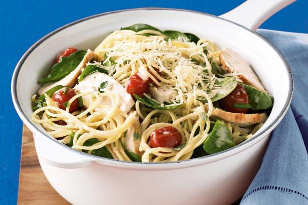 Low Cholesterol Chicken Recipes  Low fat Creamy Chicken Pasta Recipe Taste