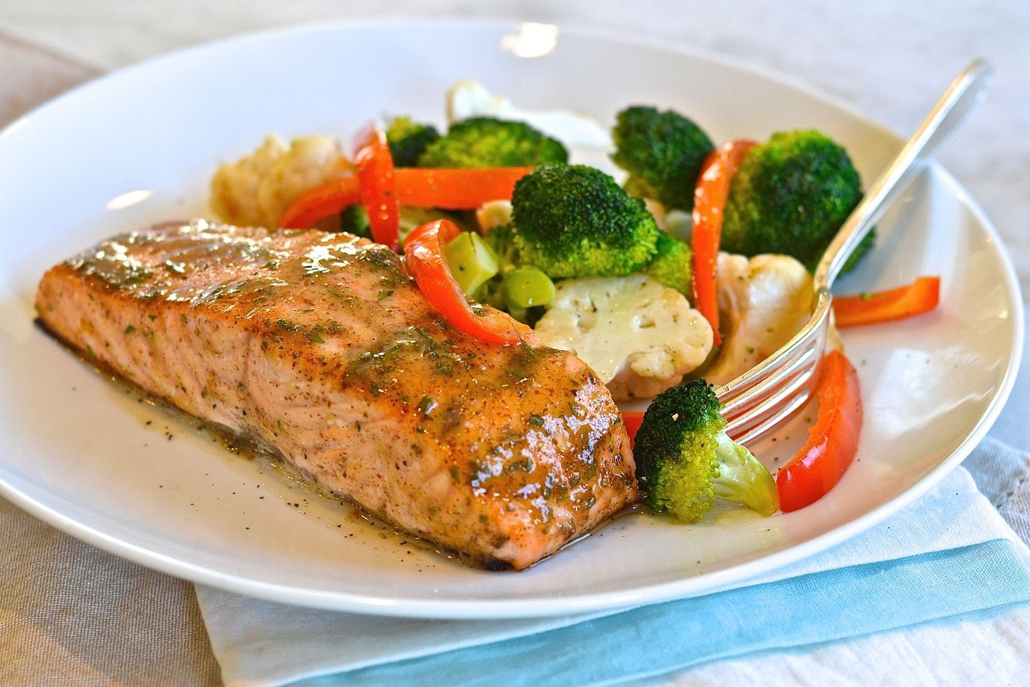 Low Cholesterol Salmon Recipes  Mustard Glazed Salmon Recipe With images