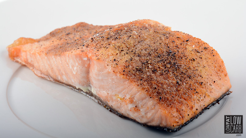 Low Cholesterol Salmon Recipes  Janeva s Perfect Healthy Salmon Recipe Low Fat Low Carb