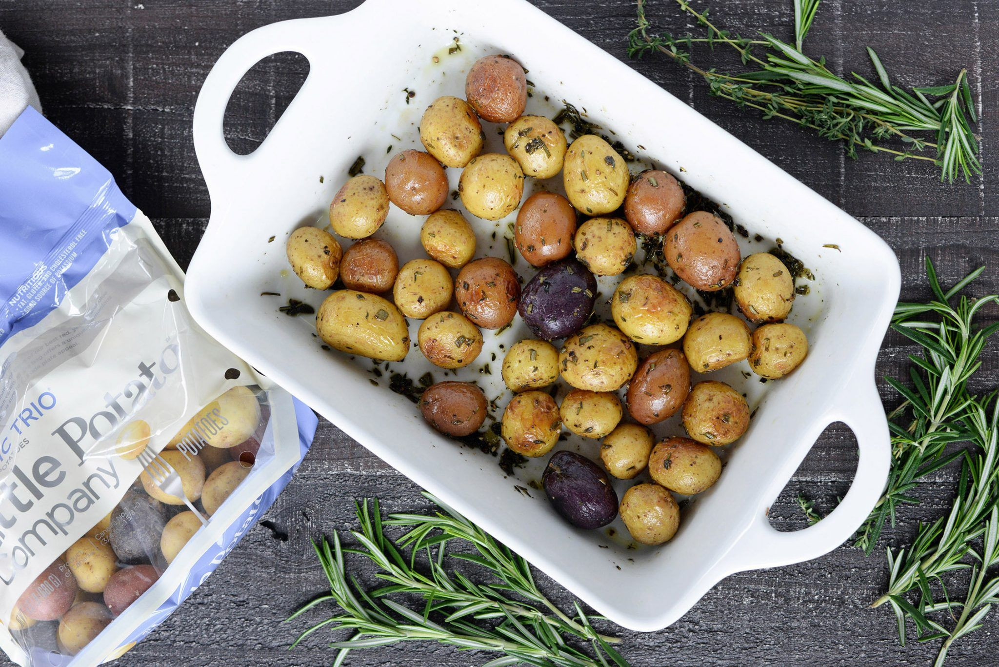Low Cholesterol Side Dishes  Perfect Herb Roasted Potatoes Recipe With images