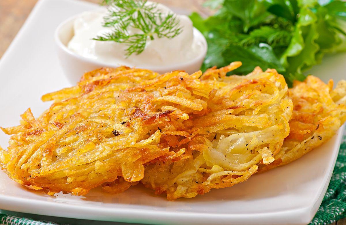 Low Fat Low Cholesterol Recipes  Low Fat Potato Latkes Recipe