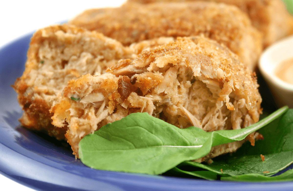 Low Fat Low Cholesterol Recipes  Parmesan Tuna Patties low fat low carb Recipe